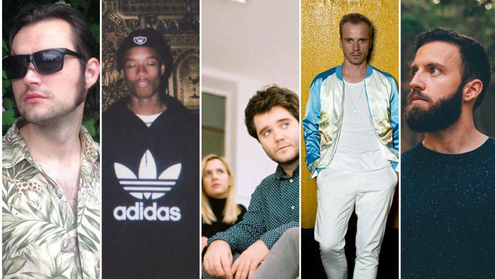 Uj Bala, Rejjie Snow, Stray Dogg, White Haus, and Beariod.