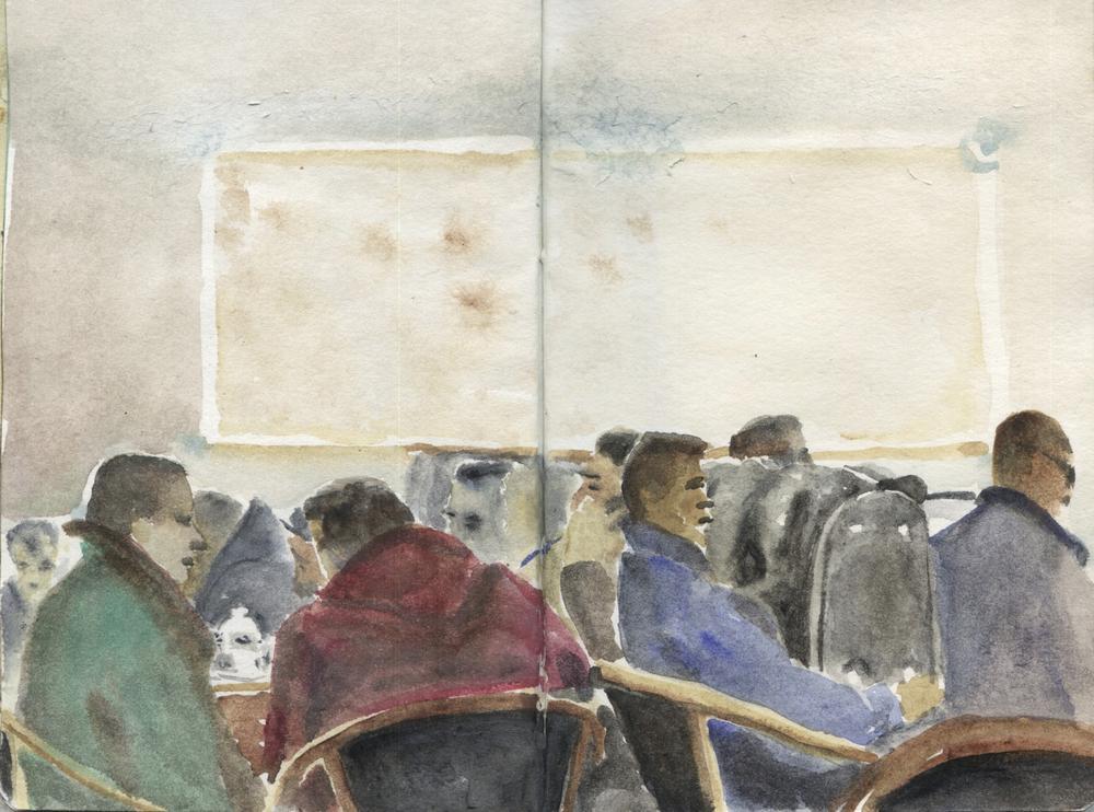 Café à Moleenbeek - Fránçois Marry