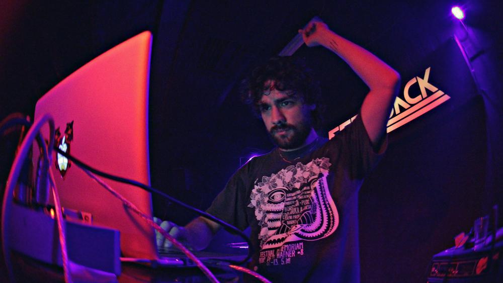 Blaž at Feedback, Niš (MENTprizent tour) - (c) Andraz Kajzer