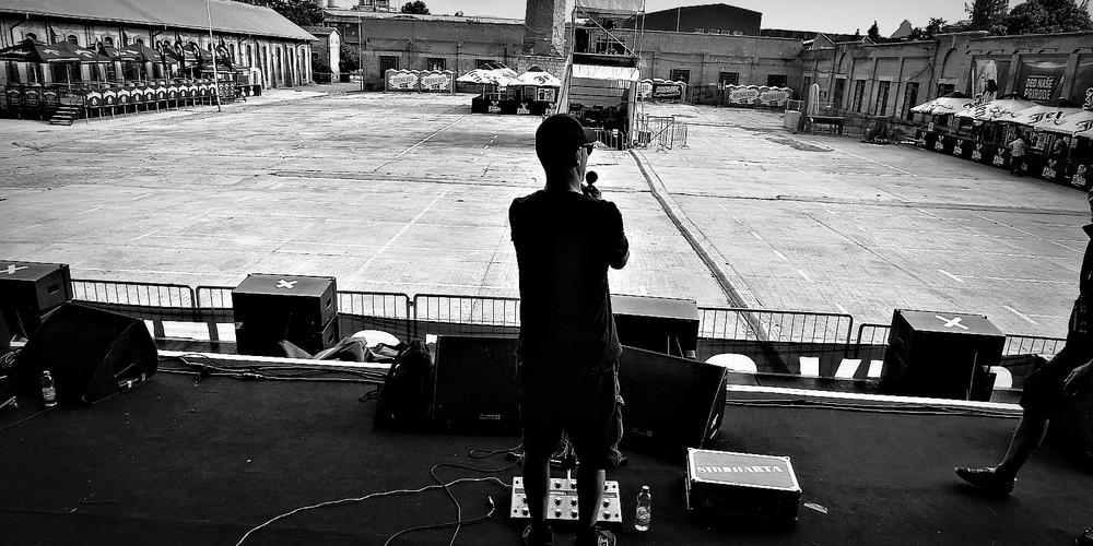 Siddharta at Arsenal fest soundcheck, Kragujevac, Serbia - (c) Andraz Kajzer