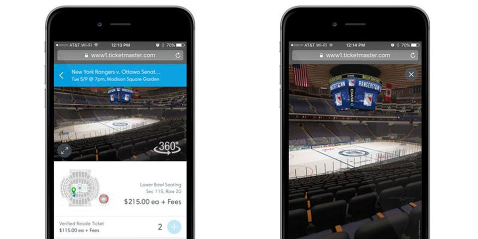 Ticketmaster rolls out new feature to show you the view from your seat