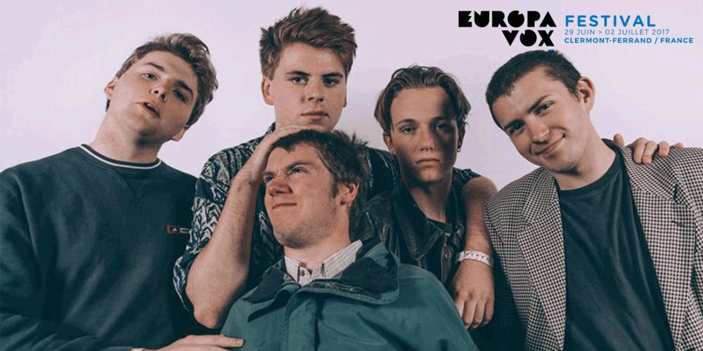Shame play Europavox Festival on Saturday 1 July.
