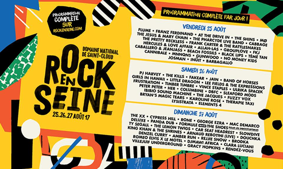 What to expect at Rock en Seine 2017