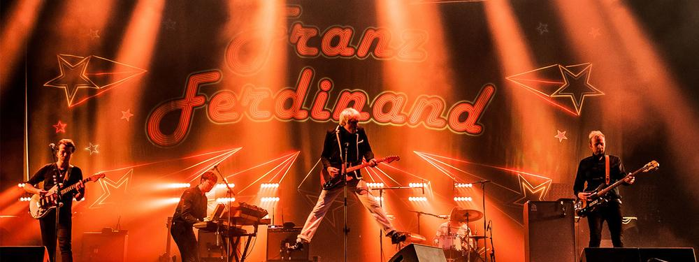 Franz Ferdinand at Rock en Seine 2017.