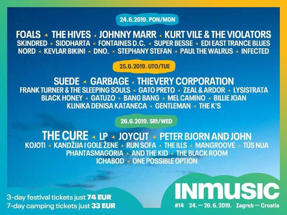 INmusic festival #14 daily line up announced!