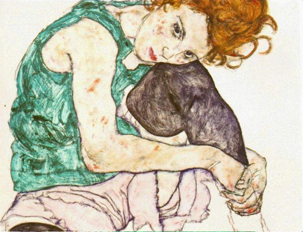 Play! Egon Schiele drawing sounds
