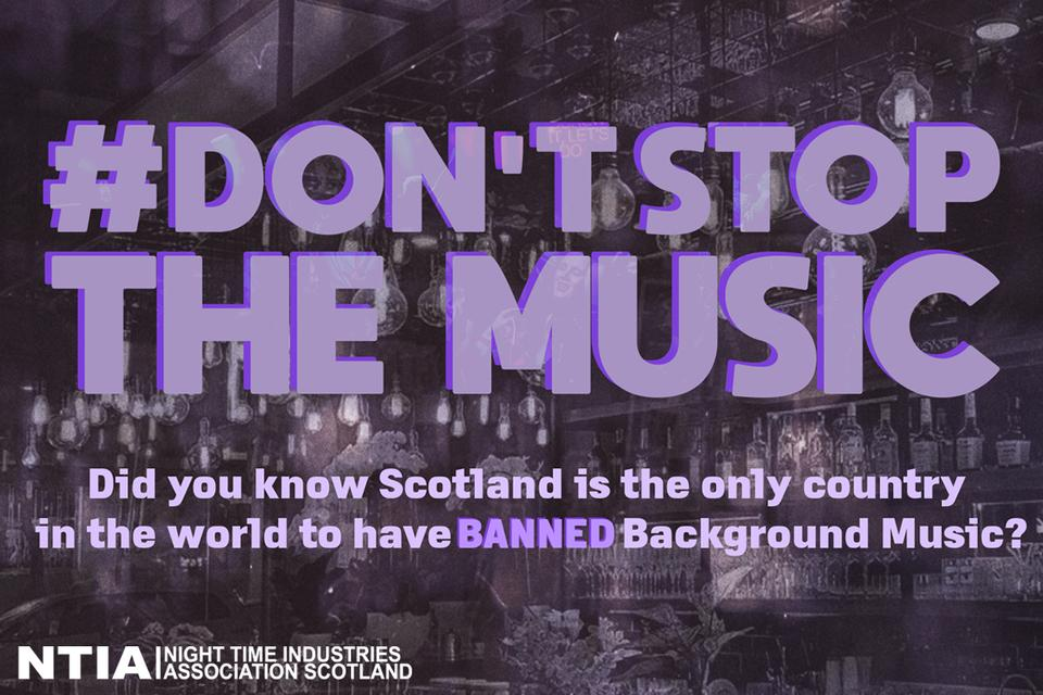 #DontStopTheMusic campaign to fight for an end to the background music ban
