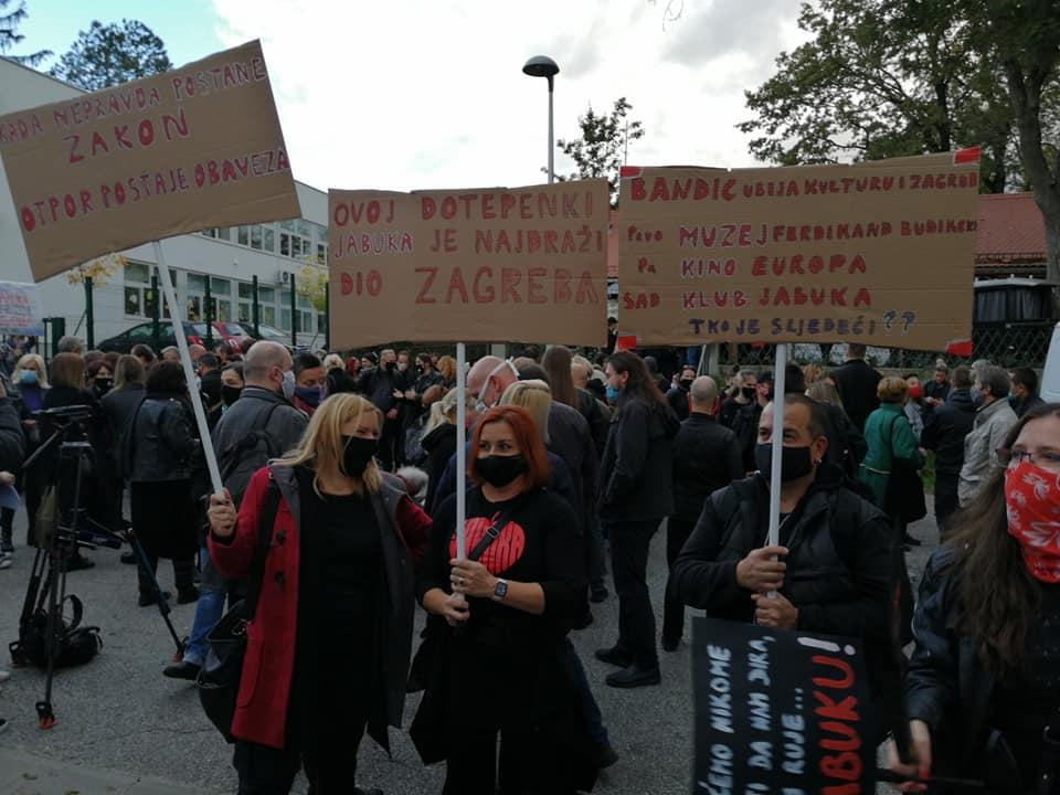 Jabuka Street Protest