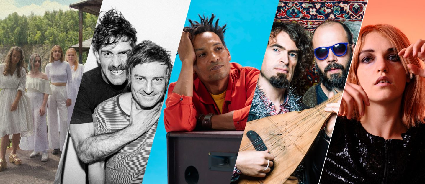 Music Europe Day - Lor, Girls in Hawaii, David Walters, Balkan Taksim, Lydmor