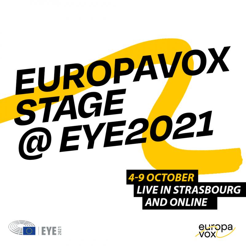 Europavox Stage @EYE2021